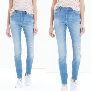 • Madewell • High Riser Skinny Jeans Sadie